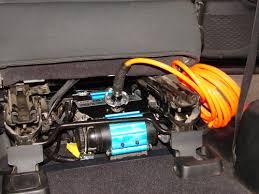 jeep jk air compressor bracket mount kit for twin or single arb ijkp 8 d