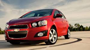 2015 Chevy Sonic SS and 2015 Chevy Sonic RS