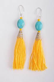 chandelier earrings beautiful handmade tassel earrings thread earrings design costume jewelry madeheart com