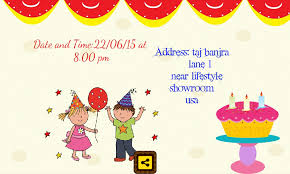 Birthday Card Invitations Sansalvaje Com