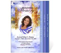 Free Download Funeral Program Template Stunning Free Funeral Program Templates Funeral Program Template
