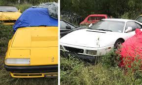 A primeira ferrari vendida ao público da história tinha um v12 de 1,5 litro (imaginem o tamanho dos pequenos cilindros) e 120 cv. Santiago30caballeros Com Hallan 11 Ferraris Clasicos Abandonados En Un Campo
