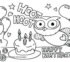 Birthday Cake Pictures To Color Birthday Cake Coloring Page Lovely