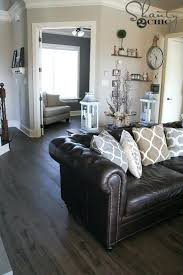 living room ideas brown sofa apartment. Living Room Ideas Brown Sofa Apartment Best Decor On Leather Couches Pillows For Dark Couch