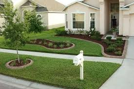 Great Front Garden Decor Lawn Amp Garden Small Landscaping For Front Yard  Decor Inspiration