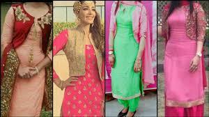 Punjabi Suit With Long Jacket Design Jacket Style Salwaar Suit 2019 2020 Punjabi Suit With Jacket