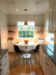 Galley Kitchen Breakfast Nook Remodeling By Lightning