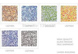 lszys04 lovely bubble crystal glass wall tiles colourful glass mosaic tile backsplash wall panel decorative materials