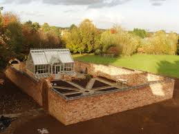 Garden To Kitchen Construction Just Completea Productive Walled Kitchen Garden