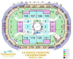 Mandalay Event Center Seating Chart Mandalay Bay Events Center