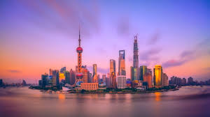 this spectacular shanghai skyline city picture in hd resolution for your puter desktop background android homescreen and iphone wallpaper
