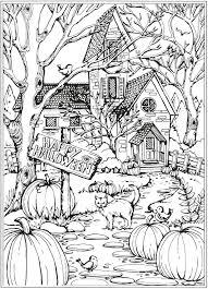 Halloween Mandalas Pinterest Disegni Da Colorare Halloween E Con