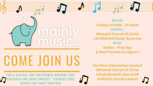 Let the word of christ dwell in you richly in all wisdom, teaching and admonishing one another in psalms and hymns and spiritual songs, singing with grace in your hearts to the lord. Mainly Music Starting Back Up Whitehill Church Of Christ