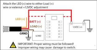 bocatech boc bt15ledsw bf mini led resettable switch