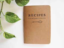 Personalised Recipe Book | From the Kitchen of | by BlancoCanvas