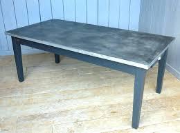 zinc top table zinc top table zinc metal table tops zinc top table round zinc top
