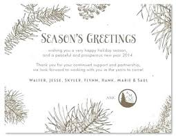 Business Holiday Card Greetings Wording But If You End Up Lacking Of