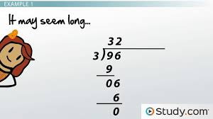 Performing Long Division with Large Numbers: Steps and Examples ...
