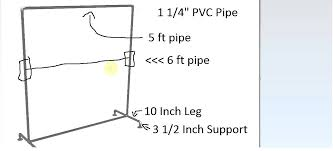 Pvc Pipe Coat Rack How To Build A Cheap DIY Clothing Rack YouTube 60
