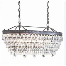 allen roth 4 light oil rubbed bronze crystal chandelier in oil rubbed bronze chandelier