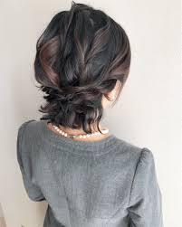 ショートボブでも諦めないで 短い髪のヘアアレンジ 柏からヘア