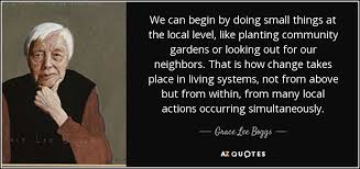 Quotes About Community Delectable TOP 48 COMMUNITY GARDEN QUOTES AZ Quotes
