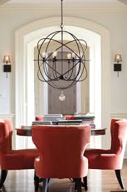 best lighting for dining room. A Dramatic Light Fixture Creates Focal Point In Room. Our Orb Chandelier Is Best Lighting For Dining Room