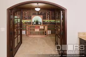 interior clear glass door. Custom Interior Door Clear Glass With Bevel For Wine Cellar Modern T