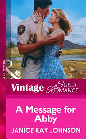 A Message for Abby (Mills & Boon Vintage Superromance): First edition –  HarperCollins Publishers UK