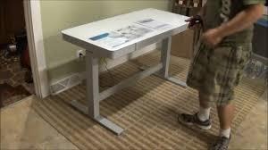 tresanti adjule height motorized standing desk costco sku 1074719