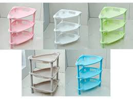 Corner Stacking Shelves Enchanting 32 Tier Bathroom Storage Rack Plastic Corner Shelf Caddy Basket