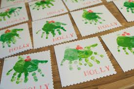 391 Best Handprint Projects Images On Pinterest  Christmas Nursery Christmas Crafts