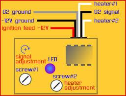 magnum o2 sensor simulator to 3 or 5 volt 4 wire wideband sensors bosch wideband o2 sensor wiring diagram at 5 Wire Oxygen Sensor Diagram