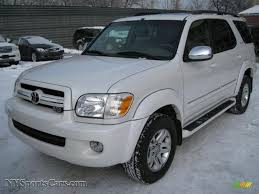 2007 Toyota Sequoia Limited 4WD in Super White - 777118 ...