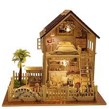 dollhouse miniature furniture. Amazon.com: Rylai Wooden Handmade Dollhouse Miniature DIY Kit - Paris Apartment Dollhouses \u0026 Furniture/Parts(1:32 Scale Dollhouse): Home Kitchen Furniture R