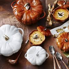 staub cast iron pumpkin. Unique Iron Staub CastIron Pumpkin Cocotte  On Cast Iron W