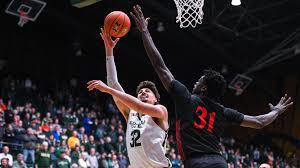 Nico Carvacho Mens Basketball Colorado State University