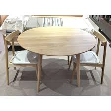 american oak arvid 1150 round hardwood table set wooden furniture sydney timber tables bedroom furniture wooden furniture furniture