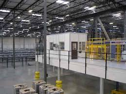 mezzanine office. Mezzanines And Mezzanine Offices Are A Great Solution For Maximizing The Cubic Footage In Any Warehouse, Factory, Or Other Large Industrial Space. Office