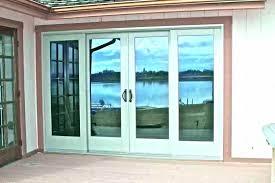 sliding patio doors with built in blinds 8 foot door s anderson