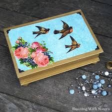 upcycle a thrift book into a diy jewelry box in this tutorial