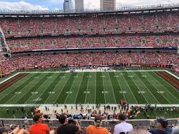 Browns Seating Chart Photos At Firstenergy Stadium