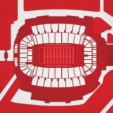 Carter Finley Stadium Map Art