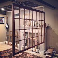 window frame room divider