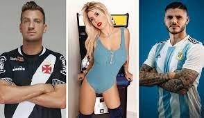 Maxi López diz que Wanda Nara o convida para ir a casa quando o marido,  Mauro