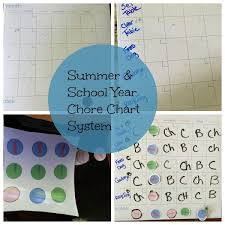 Summer Cleaning Tips With Chore Charts Ideas Close To Home