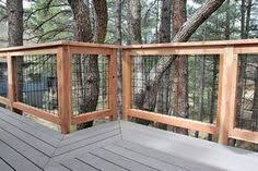 Image Modern Craftsman House Deck Wild Hog Brand Welded Wire Metal Railing Installed Around Deck In Flagstaff Arizona Diy Deck Pinterest 163 Best Wild Hog Deck Railing Images In 2019 Deck Railings