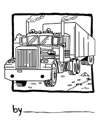 600x578 cement mixer coloring pages picture of cement truck semi truck 1 800x1000 18 wheeler 2