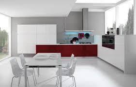 High Gloss Kitchen Cabinets Classy Modern Kitchen With Dark Maple Floor Ipc409 High Gloss