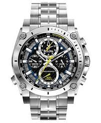 17 best images about watches martian watch jewelry bulova men s chronograph precisionist stainless steel bracelet watch 47mm 96b175